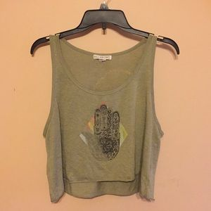 Distressed Billabong Tank